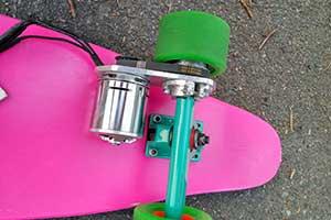 Making an electric skateboard